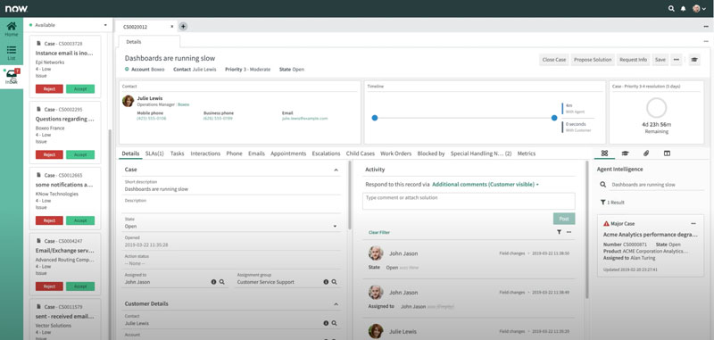 ServiceNow Customer Service Management Portal